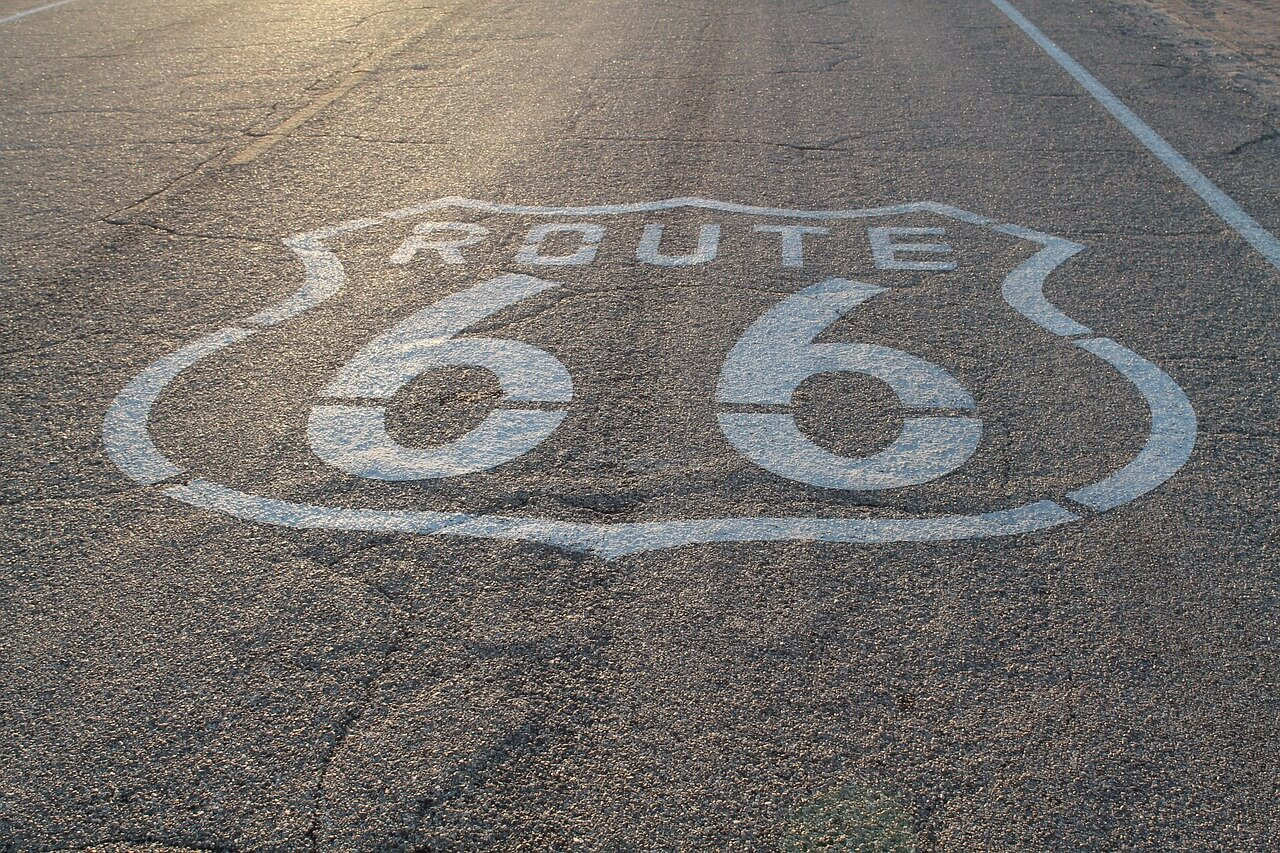 grenzenlose freiheit 10 highlights entlang der route 66. Black Bedroom Furniture Sets. Home Design Ideas