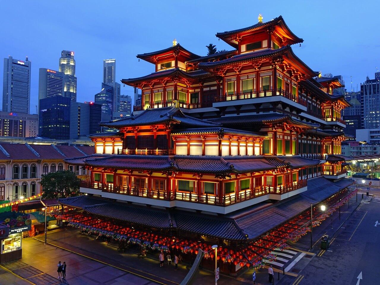 Top 10 Sehenswürdigkeiten in Singapur