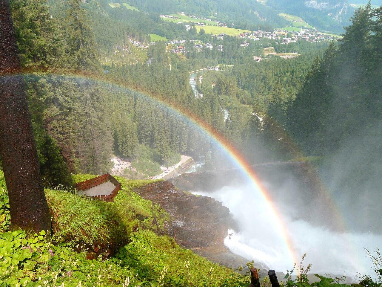 Krimmler,, Wasserfälle