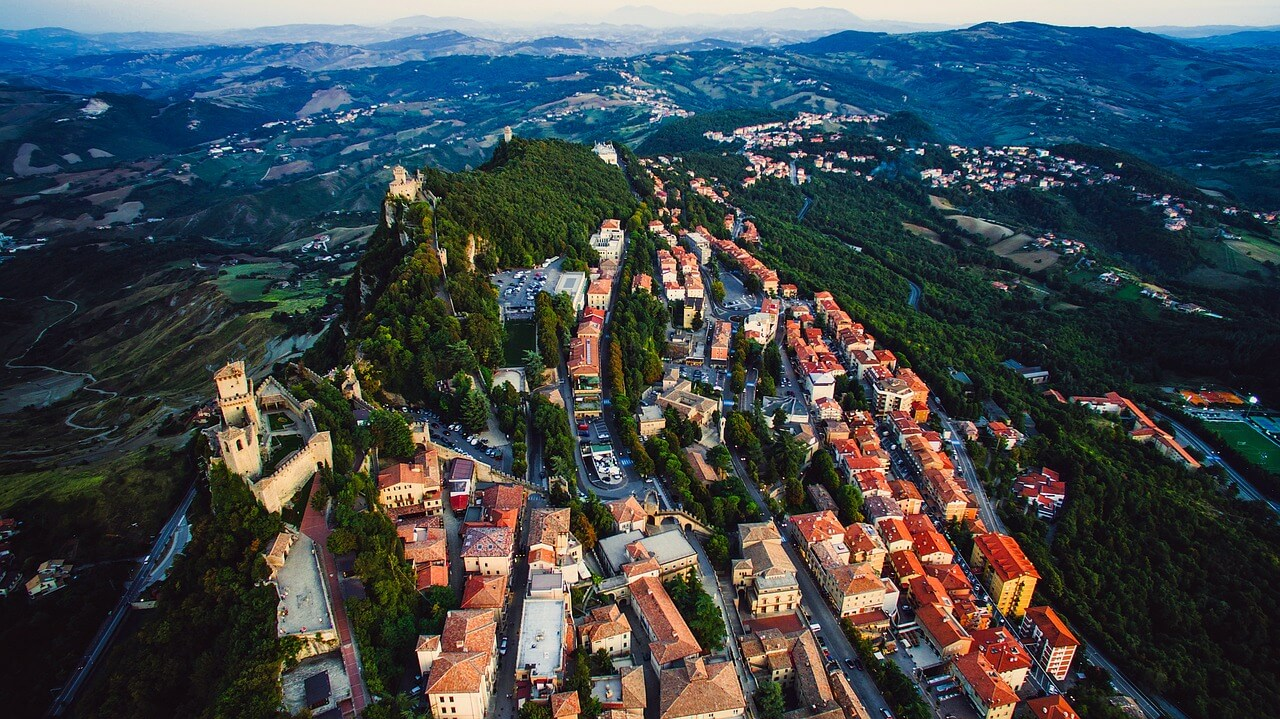 Norwegen San Marino