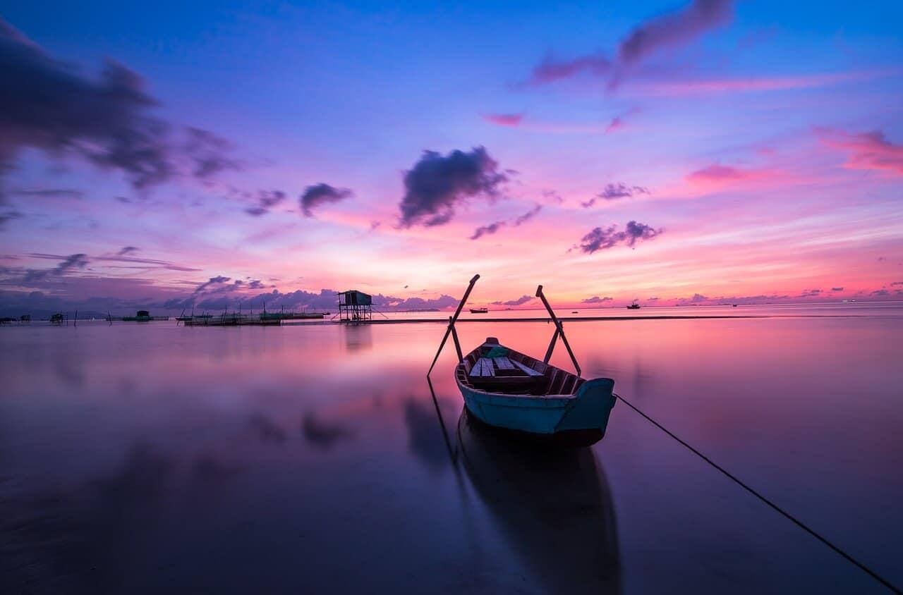 Sonnenaufgang Phu