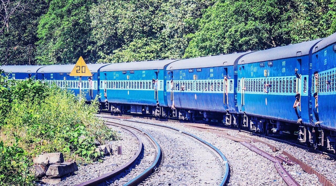 Indien, Zug